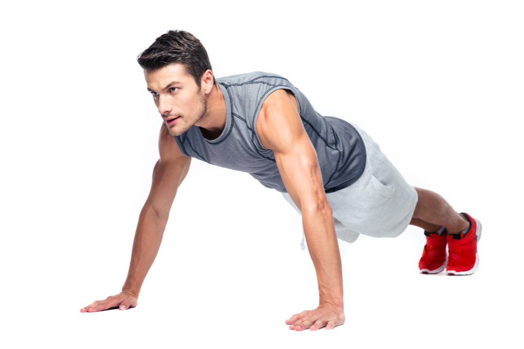 Weight Loss Workout Plan for Men push up
